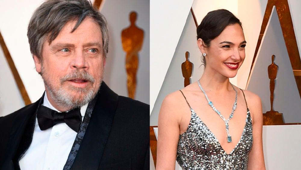 Mark Hamill y Gal Gadot se conocieron en los Oscar
