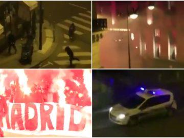 Altercados en las afueras del hotel de concentración del Real Madrid