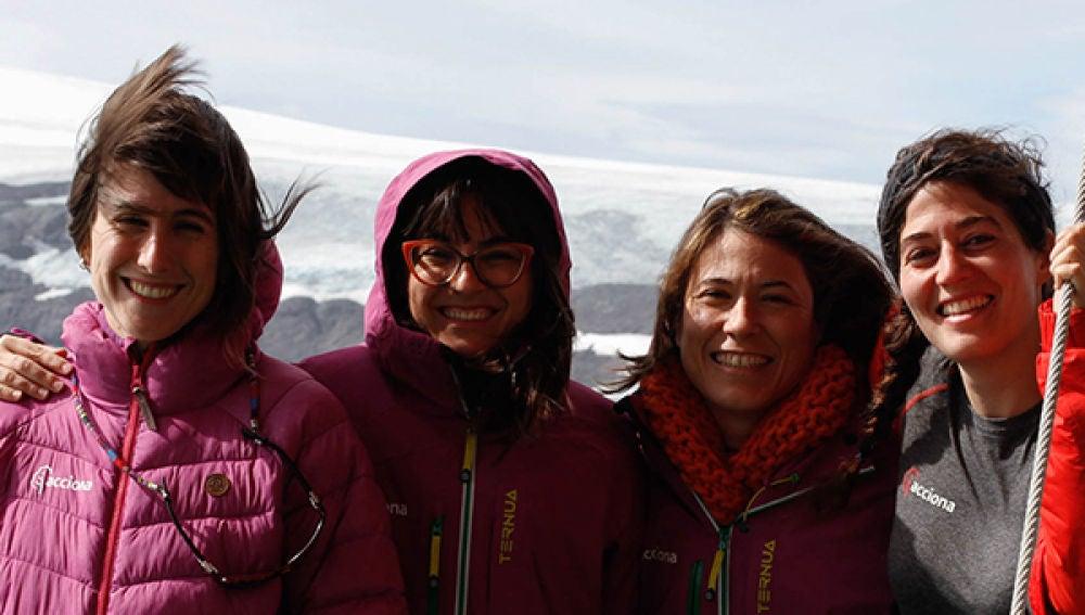 Las científicas españolas en la Antártida