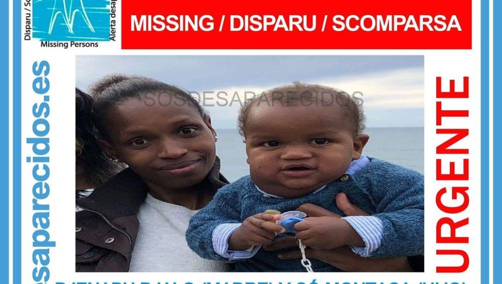 Desaparecida una mujer de origen guineano y su bebé de diez meses