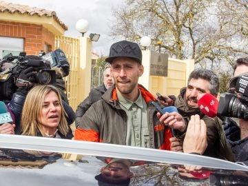'Lucho' sale de prisión