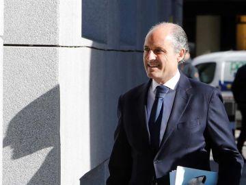El expresidente de la Generalitat valenciana Francisco Camps
