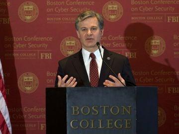 El director del FBI señala a España como ejemplo de cooperación contra ciberataques