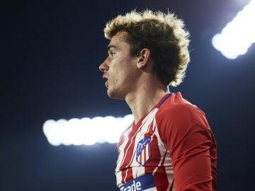 Griezmann, con el Atlético