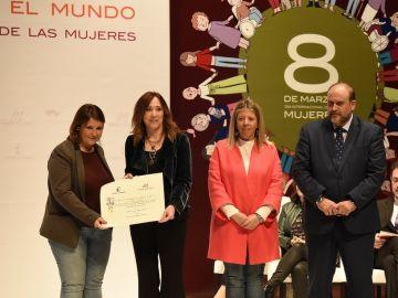 Pilar Ruipérez, periodista de Antena 3 Noticias, distinguida por el Gobierno de Castilla-La Mancha con motivo del acto institucional del Día de la Mujer