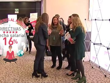 Sólo el 9% de las mujeres que trabajan ocupan puestos directivos