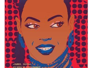 Ilustración de Beyoncé para 'Cuentos de buenas noches para niñas rebeldes 2'