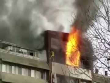 Cuatro heridos graves en un incendio en un hotel en Turquía