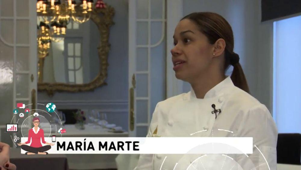 María Marte, la chef que le dio la vuelta a la tortilla