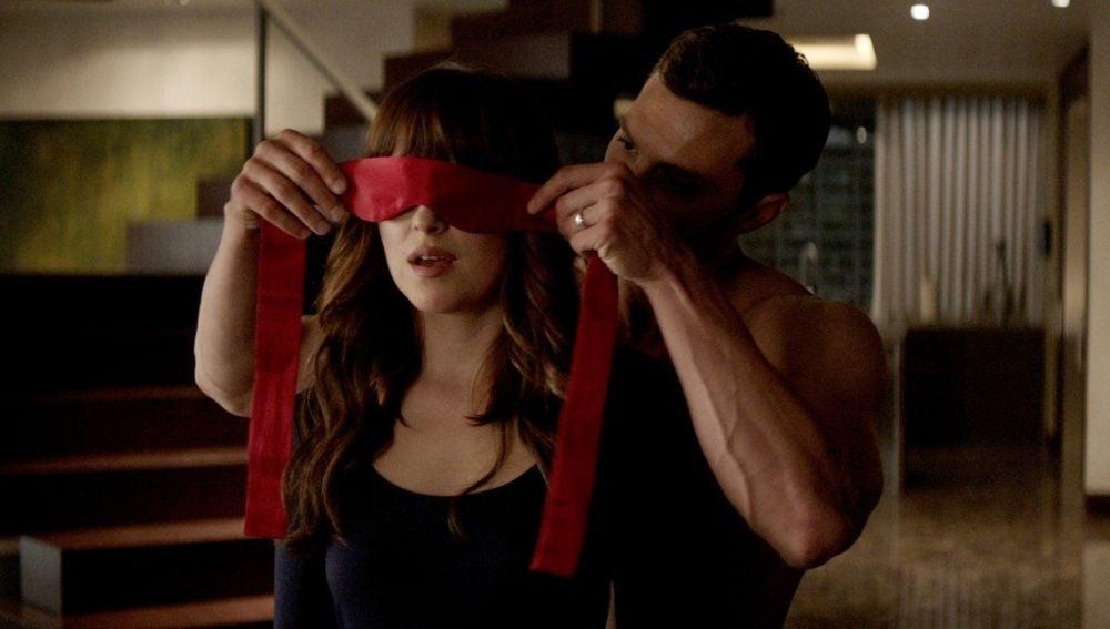 Ana y Christian en 'Cincuenta sombras liberadas'