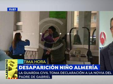 La Guardia Civil toma declaración a la novia del padre de Gabriel, el niño desaparecido en Níjar