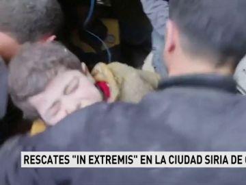 Rescate en Siria