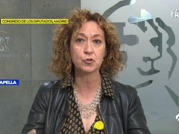 La diputada de ERC, Esther Capella