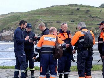 Bomberos del Servicio de Emergencias del Principado de Asturias
