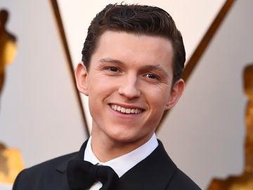 Tom Holland en la pasada edición de los Oscar