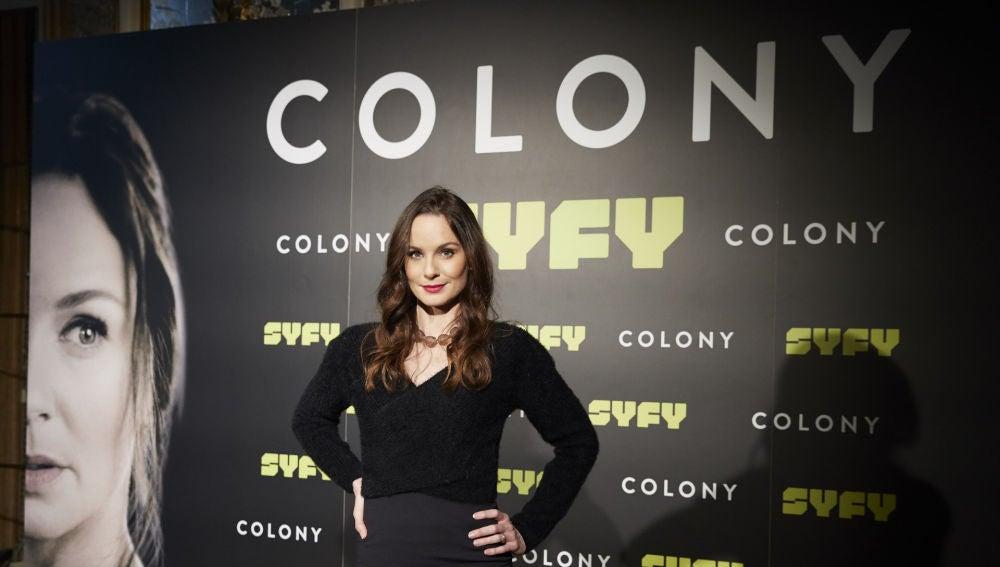 Sarah Wayne Callies en Madrid presentado 'Colony'