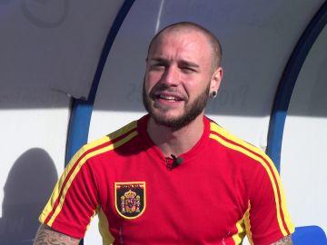 """Adrián Rodríguez: """"Sergio Ramos podría ser una gran inspiración para mi personaje"""""""
