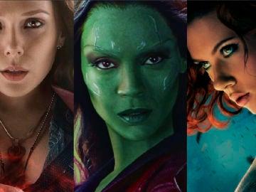 Las heroínas de Marvel