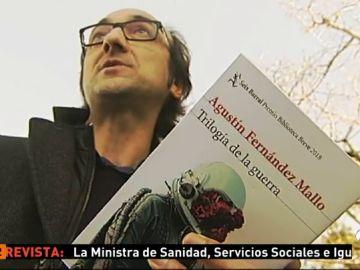 Agustín Fernández Mallo presenta su 'Trilogía de la guerra', premio Biblioteca Breve 2018