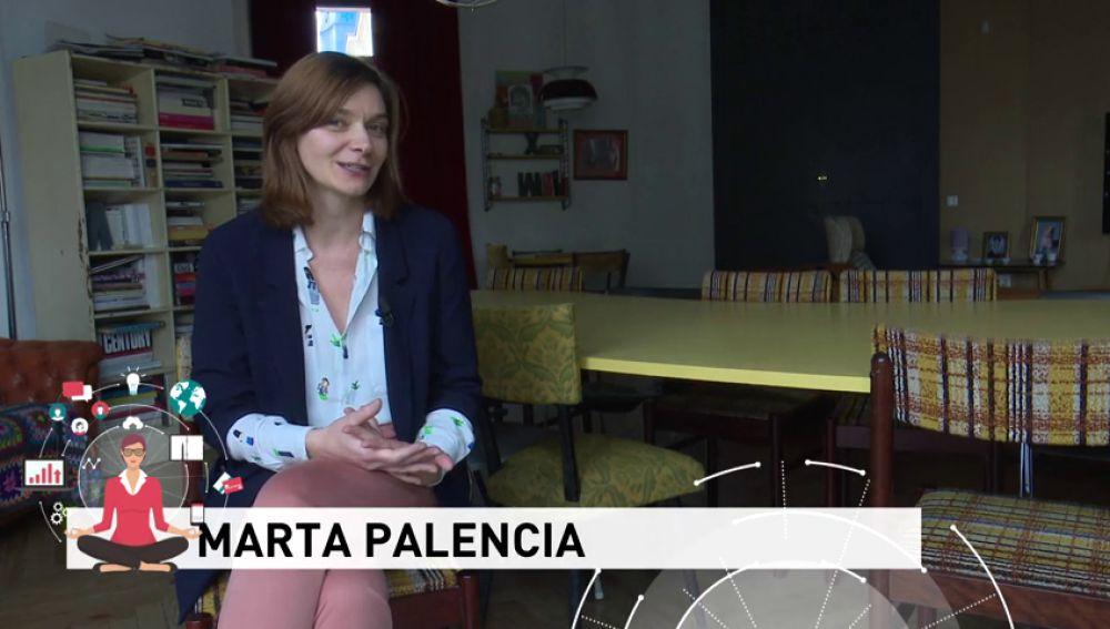 Marta Palencia, la directiva