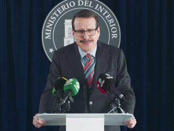 El ministro Ocaña, presionado ante la prensa por una nueva filtración