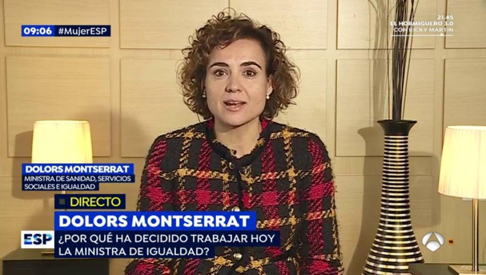 Antena 3 tv dolors montserrat sobre el 8 m me alegra for Espejo publico hoy completo