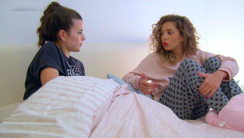 Sheyla y Carolyne vuelven a dormir juntas pero no revueltas