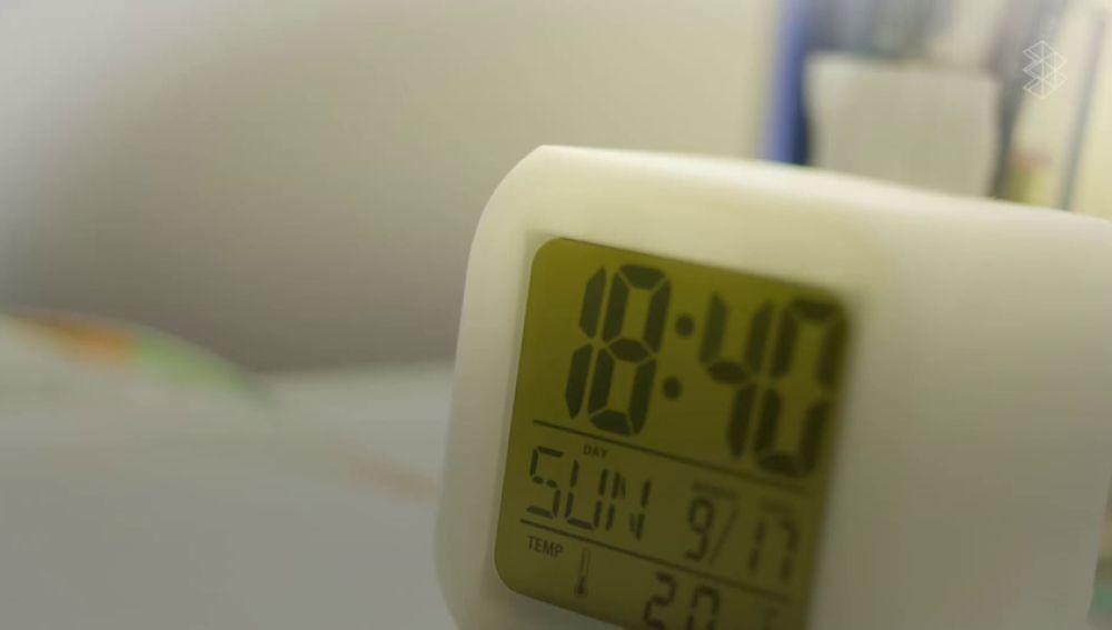 Imagen de un reloj eléctrico