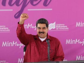 Nicolás Maduro, en un acto en el Día de la Mujer