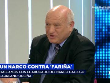 """El abogado de Laureano Oubiña: """"A Oubiña se le ha puesto como un 'capo de capi' en 'Fariña' y no es así"""""""