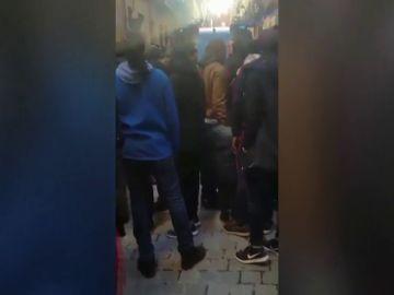 Muere un mantero durante un control policial contra el top manta en Madrid