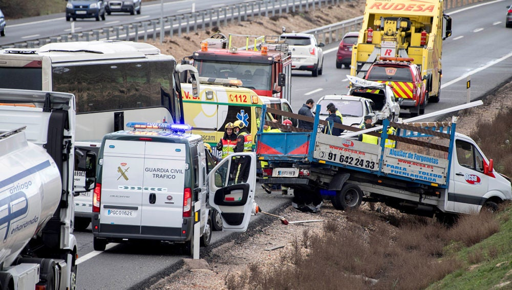 Accidente en Illescas