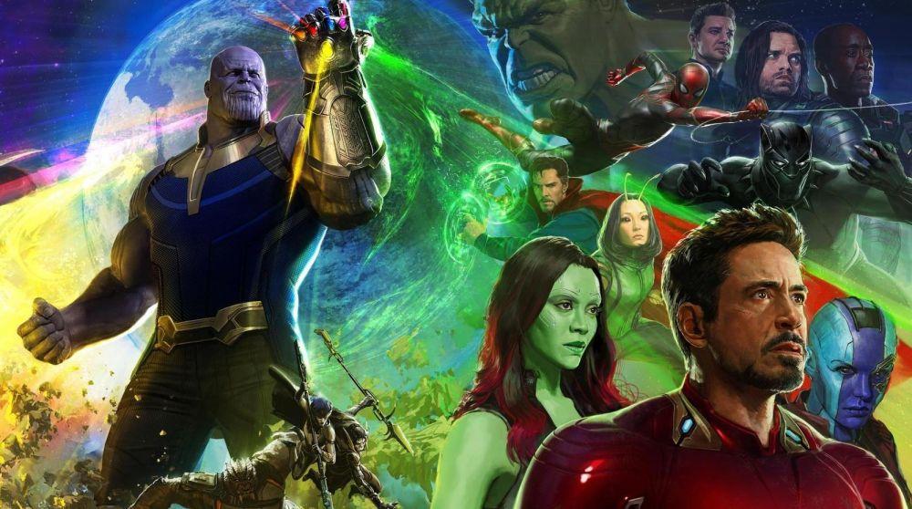 Algunos de los protagonistas de 'Vengadores: Infinity War'