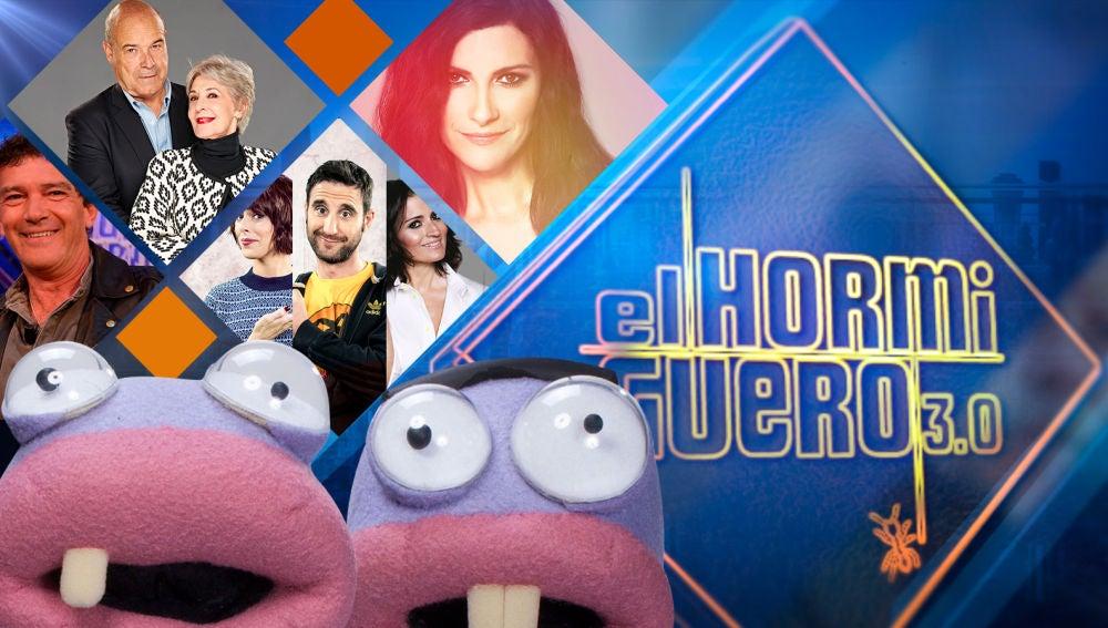 Laura Pausini, Silvia Abril, Dani Rovira y Belén Cuesta, Antonio Banderas, Concha Velasco y Antonio Resines visitarán 'El Hormiguero 3.0' la próxima semana