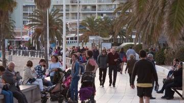 Turistas en la provincia de Castellón.