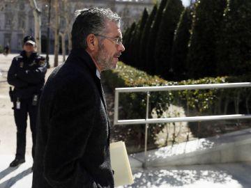 El exconsejero de Presidencia, Justicia e Interior de la Comunidad de Madrid, Francisco Granados