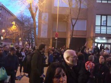 """Concentración en Barcelona contra """"la represión"""" policial por los nuevos registros en el Palau"""