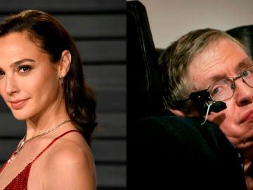 Gal Gadot y Stephen Hawking