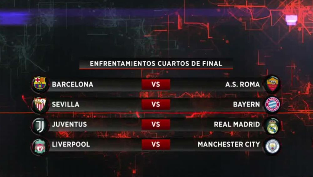 ANTENA 3 TV | Juventus - Real Madrid, Barcelona - Roma y Sevilla ...