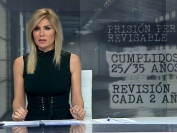 Sandra Golpe presenta Antena 3 Noticias