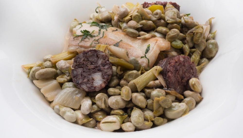 La receta de habas a la catalana de Karlos Arguiñano