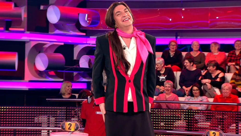 El twerking de Arturo Valls que ha hecho llorar de risa al público