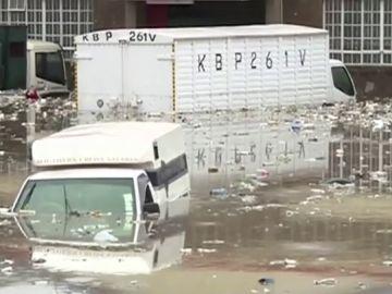Consecuencias de las inundaciones en Nairobi