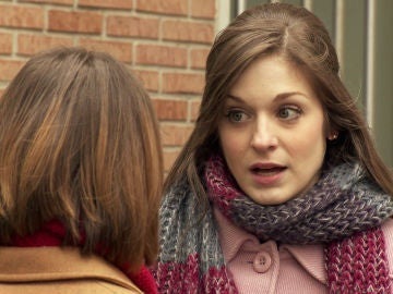 Una nueva discusión entre Susana y Laura en medio de la Plaza de los Frutos