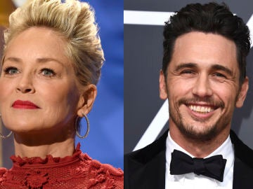 Sharon Stone y James Franco