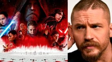 Sí, Tom Hardy trabajó en 'Star Wars: Los últimos Jedi'
