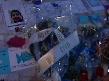 La Guardia Civil se suma a los homenajes al pequeño Gabriel Cruz en Almería