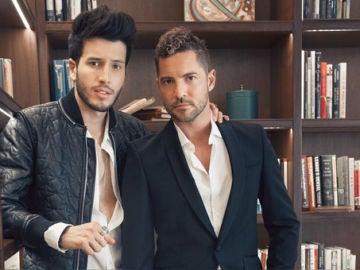 David Bisbal y Sebastian Yatra