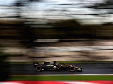 Carlos Sainz, rodando con el RS18