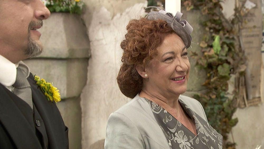 Dolores y Tiburcio viven el día más especial de su vida